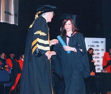 Tania Caputo Graduation 2007