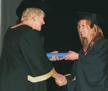 Tania Fognini Graduation 2005 (2)