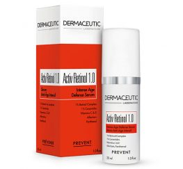 Activ Retinol 1.0 Bottle Box Side